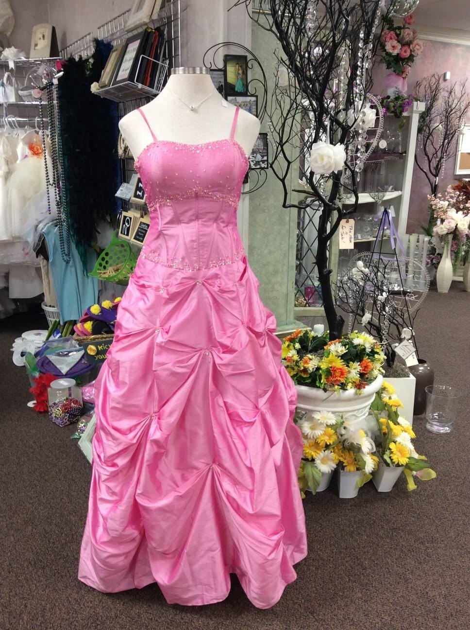 Retail sales of wedding gowns bridesmaid dresses prom dresses tux