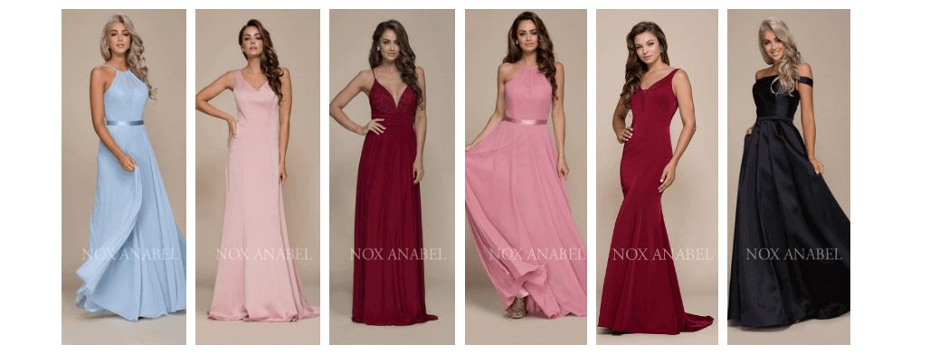 e8945879c Nox Anabel Bridesmaid Dresses
